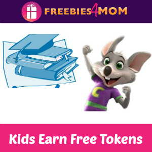 Kids Earn Free Tokens at Chuck E Cheese