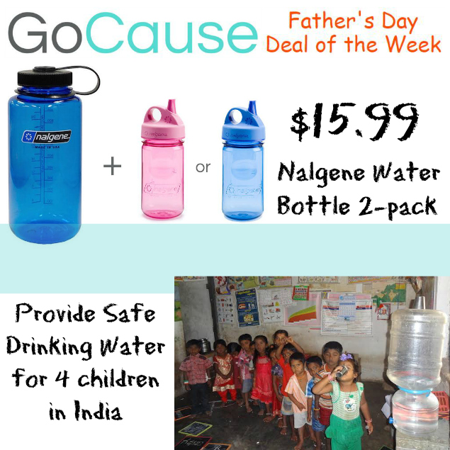 GoCause Nalgene Daddy & Me Deal