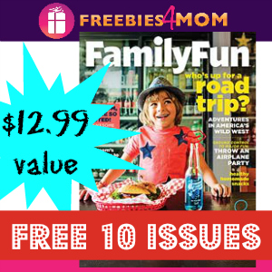 10 Free Issues of Family Fun Magazine