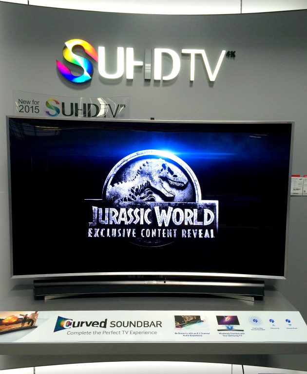 Experience Samsung SUHD TV at Best Buy