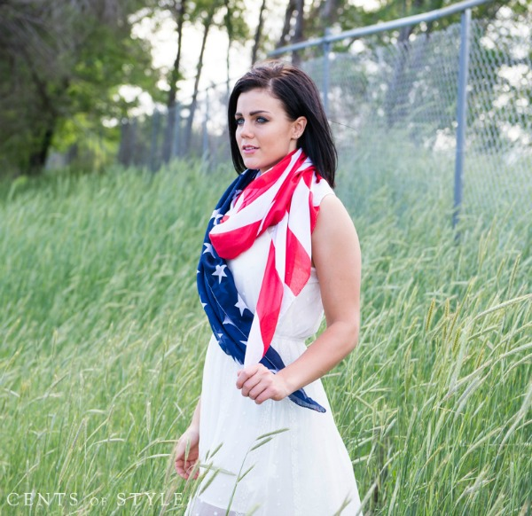 Stars & Stripes Scarf $7.95 (& Free Shipping)
