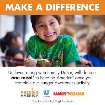 Family Dollar Coupons & Feeding America