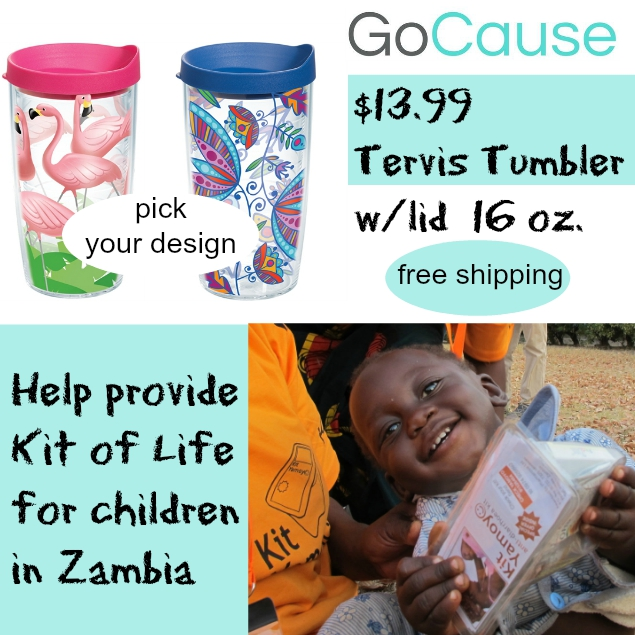 GoCause Deal: $13.99 for Tervis Tumbler