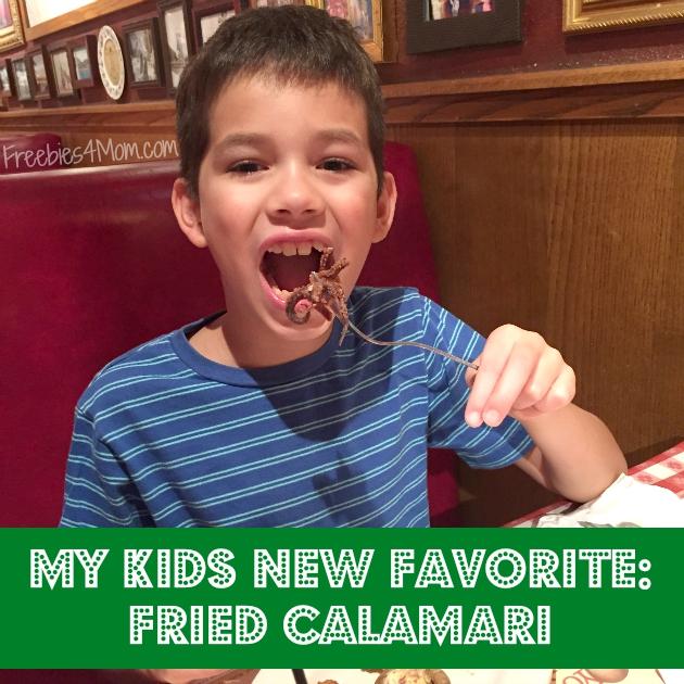 Fried Calamari at Buca di Beppo