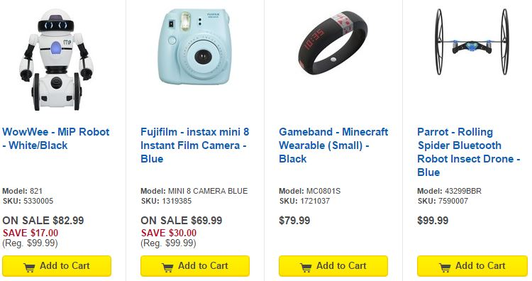 Unique Gift Ideas at Best Buy