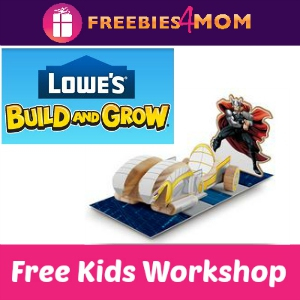 Free Thor's Chariot Lowe's Kids Clinic