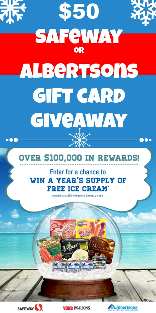 $50 Safeway or Albertsons Gift Card Giveaway ~ #FlavorFlurryFun