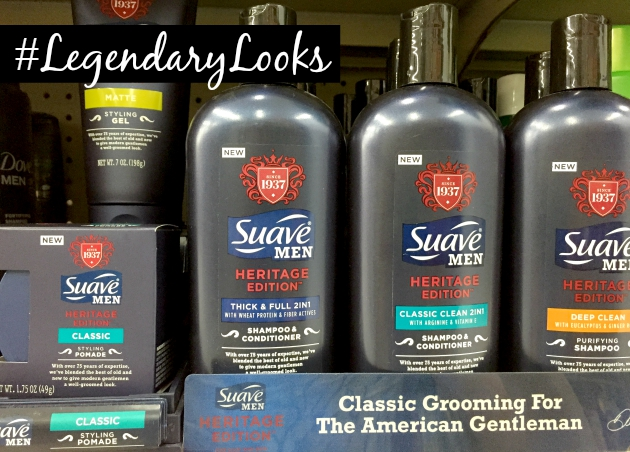 Suave Men grooming products at Walmart