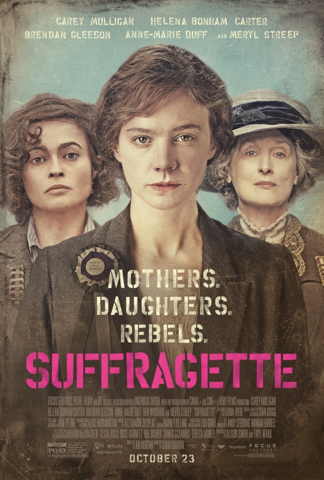 Celebrate Women's Equality Day & Suffragette in Theaters October 23