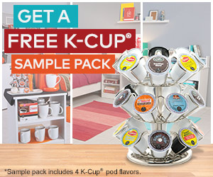 Free Sample K-Cups 4-pack with Coupons
