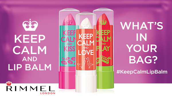 Rimmel Keep Calm and Lip Balm at Walmart