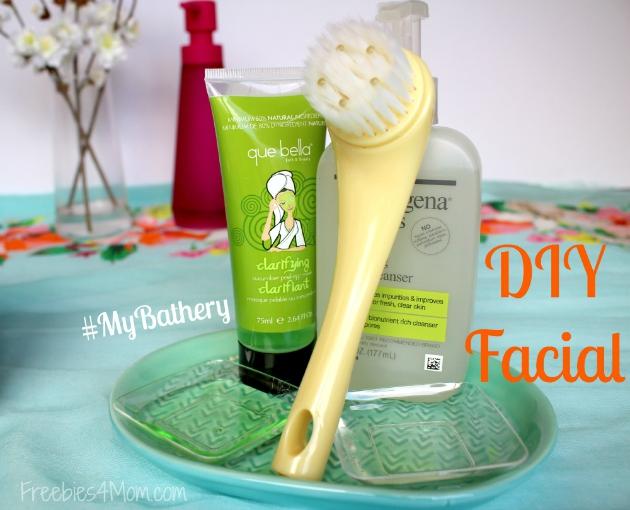 DIY Facial at-home spa treatment