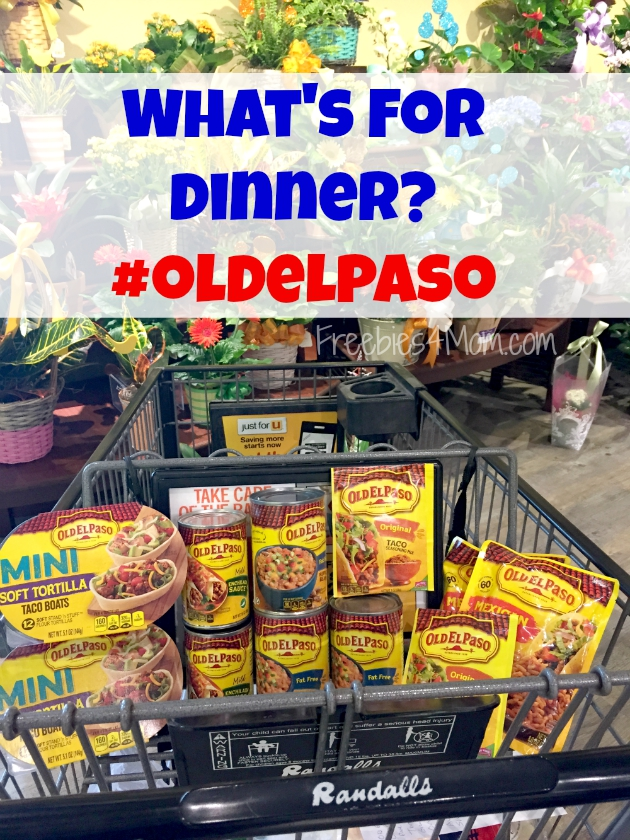 Old El Paso products in my Randalls shopping cart