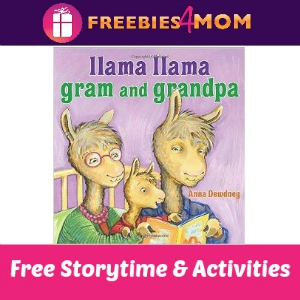 Llama Llama Gram and Grandpa Storytime