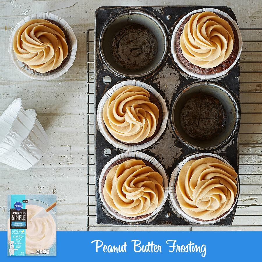 Pillsbury Purely Simple Peanut Butter Frosting Recipe