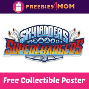 Free Skylanders Superchargers Collectible Poster