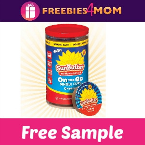 Free Sample SunButter On the Go Single Cups