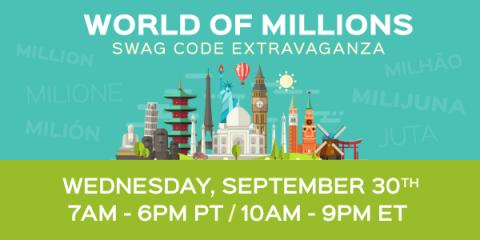 The World of Millions Swag Code Extravaganza