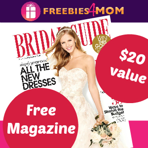 Free Bridal Guide Magazine (2 years, $20 value)