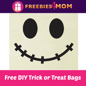 Free Boo-It-Yourself Trick or Treat Bags