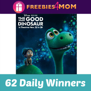 Sweeps Sun-Maid The Good Dinosaur Tickets