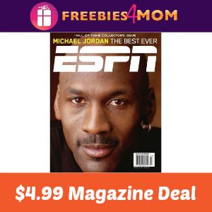 Magazine Deal: ESPN $4.99 ($0.19/issue)