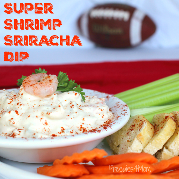 Super Shrimp Sriracha Dip Tailgating Recipe