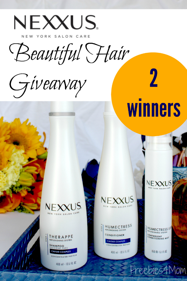 Nexxus Beautiful Hair Giveaway ~ Get the Hair that Gets Reviews