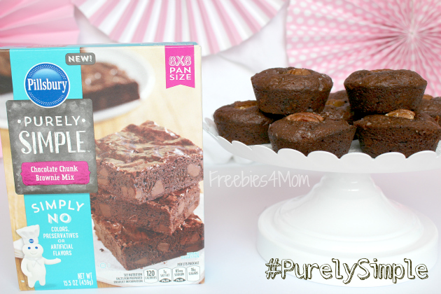 Pillsbury Purely Simple Salted Caramel Brownies