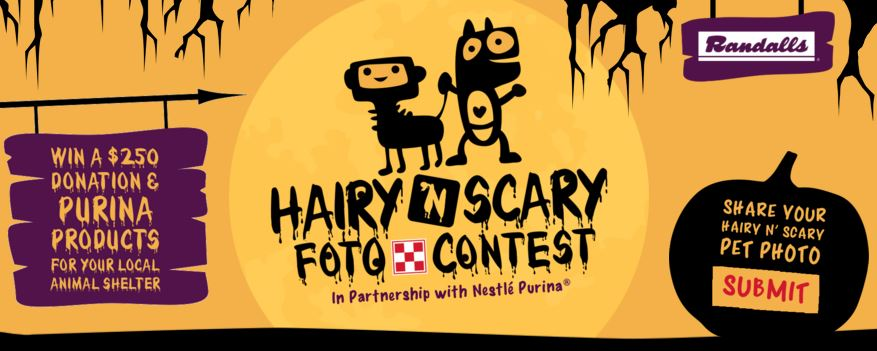 Hairy 'N Scary Foto Contest Pet Halloween Costume Contest