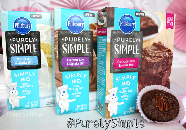 Pillsbury #PurelySimple Baking and Frosting Mixes