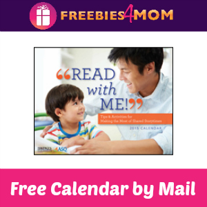 "Free ""Read With Me"" Calendar"