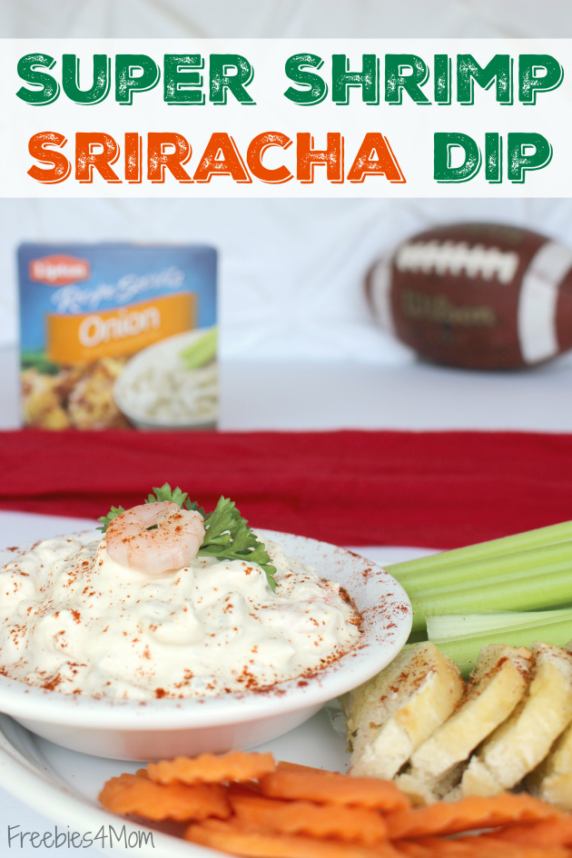 Super Shrimp Sriracha Dip plus Lipton® Recipe Secrets Coupon