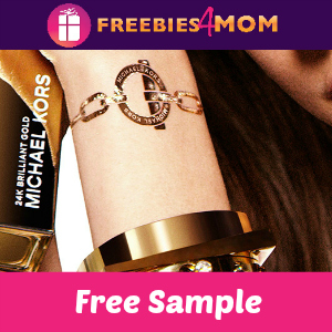 Free Michael Kors Brilliant Gold Tattoo