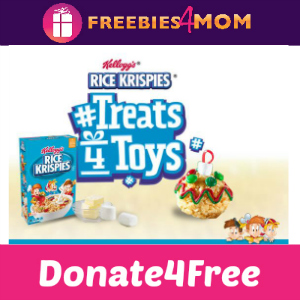 Donate4Free: Rice Krispies #Treats4Toys