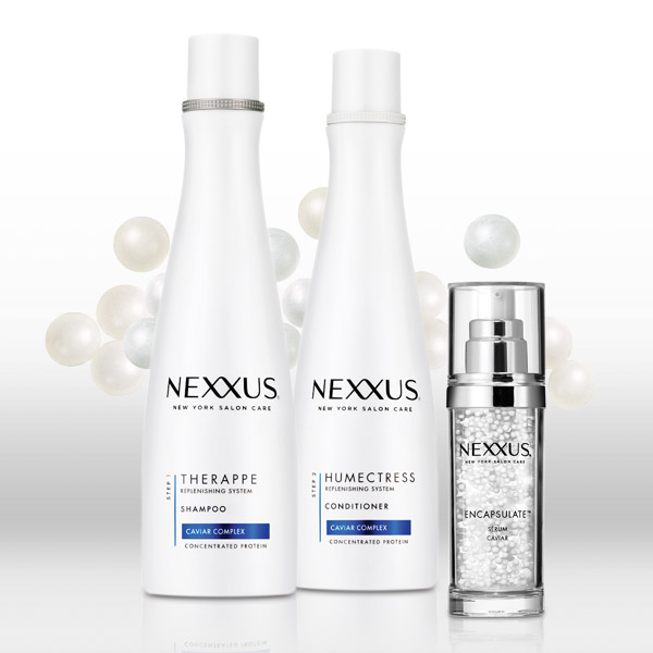 Nexxus Therappe Shampoo and Nexxus Humectress Conditioner