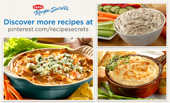 Lipton Recipe Secrets Dip Recipes