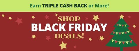 Shop thru Swagbucks for Triple Cash Back