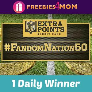 Sweeps NFL Extra Points #FandomNation50