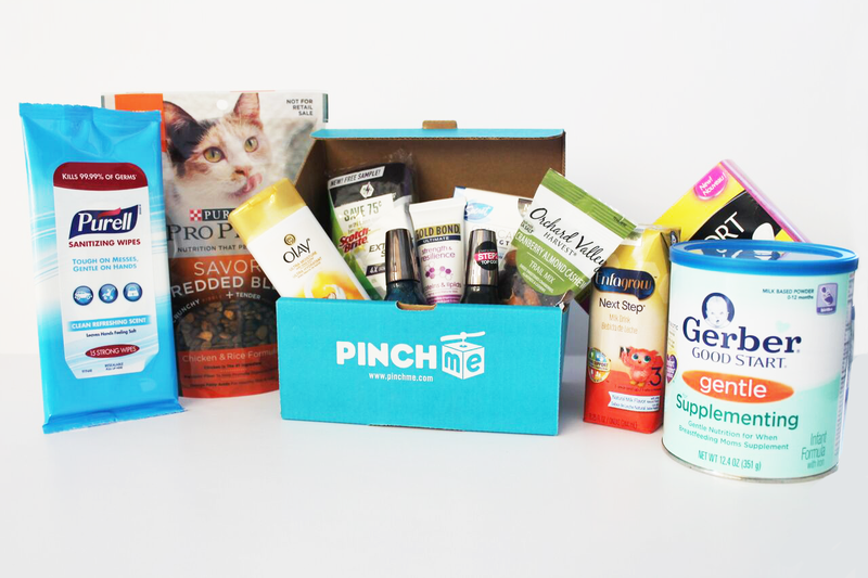 Free Samples from PINCHme November 10 at 11am CT