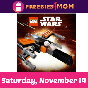 Free Mini Lego Star Wars Build at Toys R Us