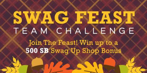 Swag Feast Team Challenge