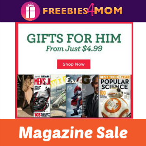Magazine Gifts For Him