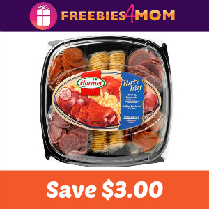Save $3.00 off one Hormel Gatherings Party Tray