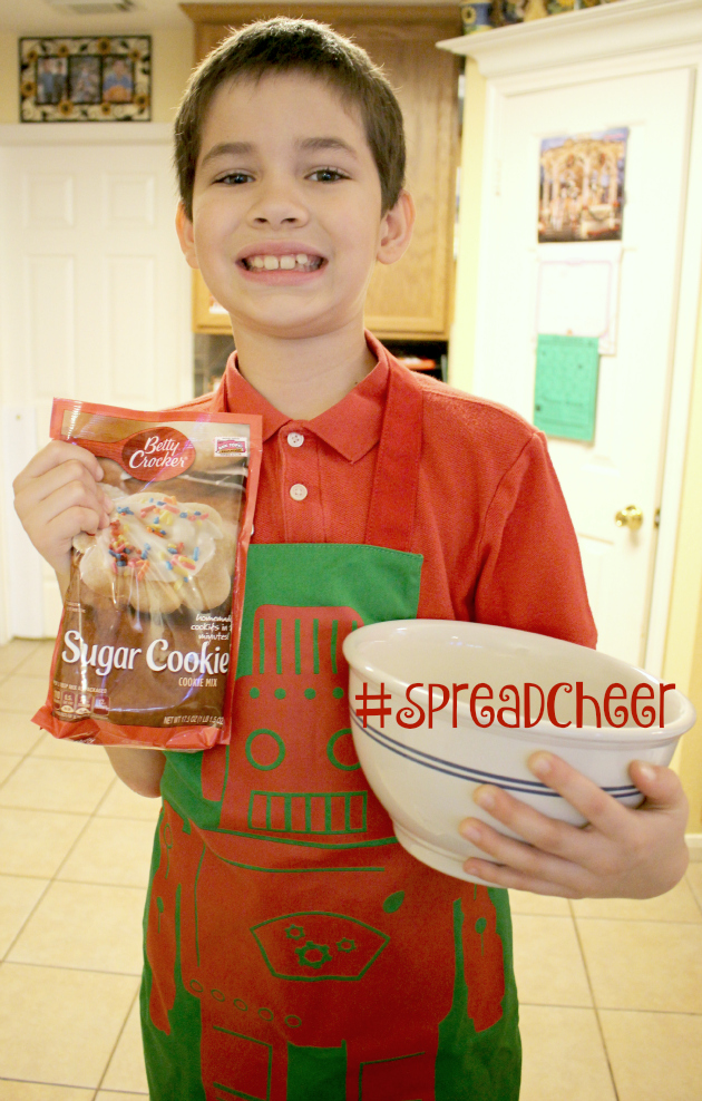 Ready to Bake Poinsetta Cookies to #SpreadCheer