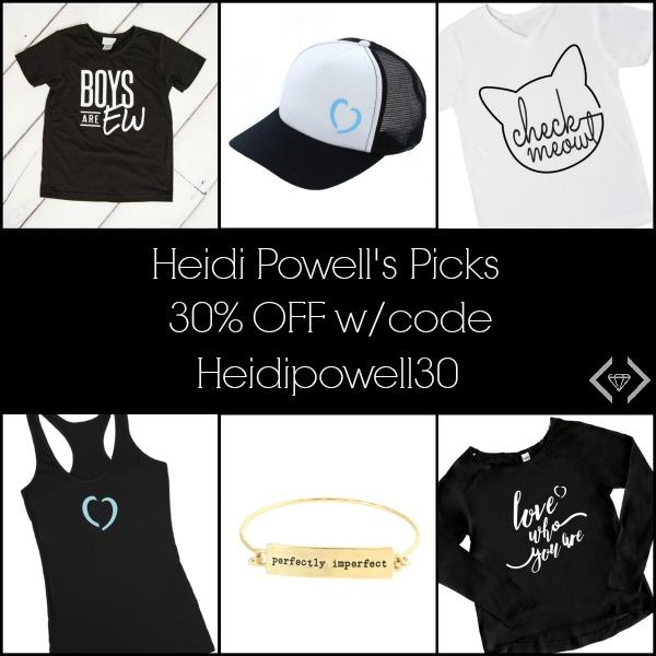 30% off Heidi Powell Cents of Style Picks