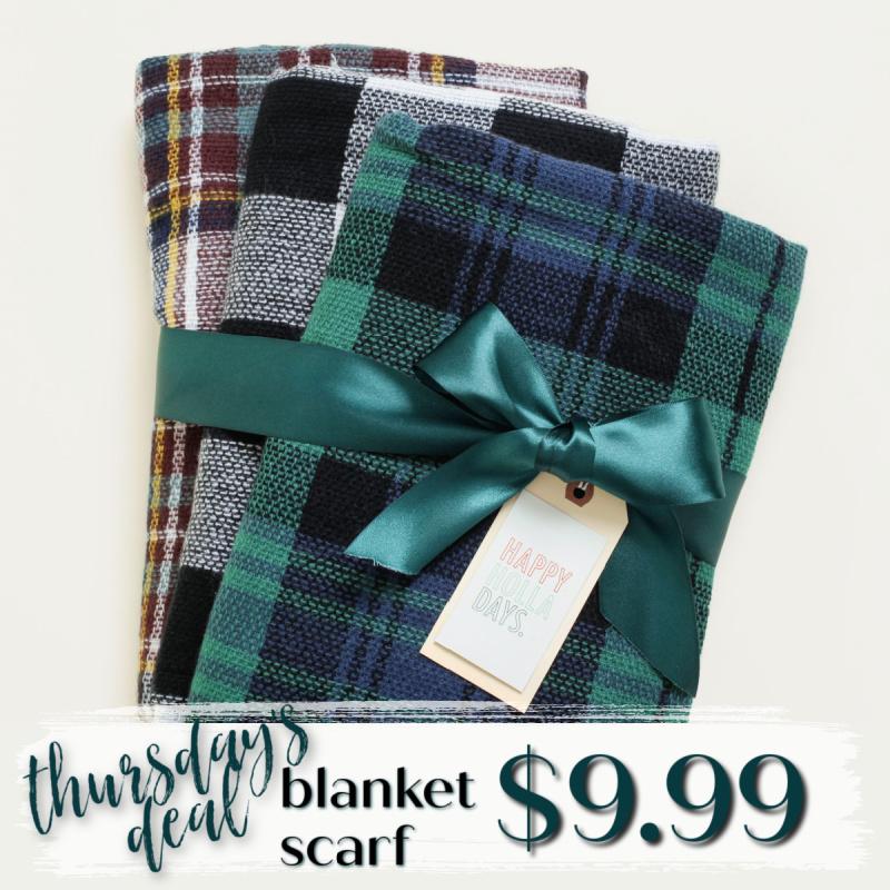 🧣Blanket Scarves Only $9.99 ($24.95 Value)