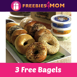 3 Free Bagel Day at Bruegger's