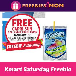 Free Capri Sun at Kmart Saturday