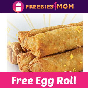Free Chicken Egg Roll at Panda Express